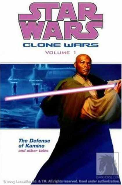 Star Wars Books - The Defense of Kamino and Other Tales (Star Wars: Clone Wars, Vol. 1)