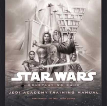 Star Wars Books - Jedi Academy Training Manual (Star Wars Roleplaying Game)