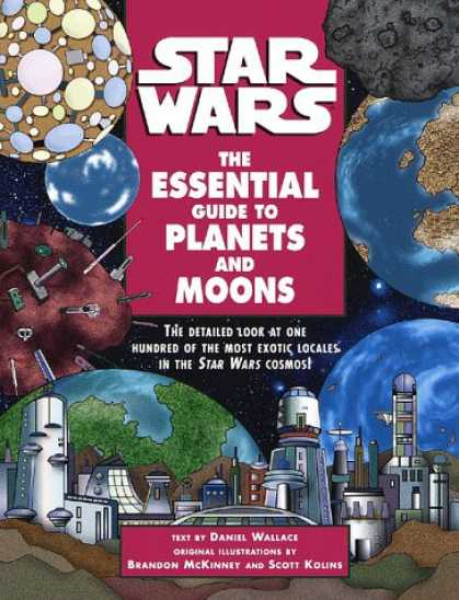 Star Wars Books - The Essential Guide to Planets and Moons (Star Wars)