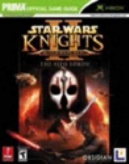 Star Wars Books - Star Wars Knights of the Old Republic II: The Sith Lords (Prima Official Game Gu