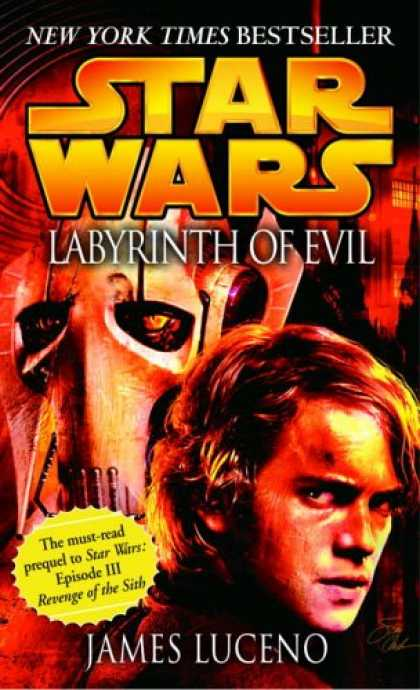 Star Wars Books - Labyrinth of Evil (Star Wars, Episode III Prequel Novel)