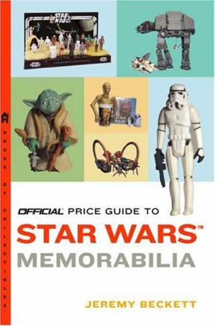 Star Wars Books - Official Price Guide to Star Wars Memorabilia (Official Price Guide to Star Wars
