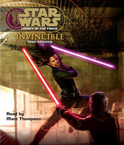 Star Wars Books - Star Wars: Legacy of the Force: Invincible