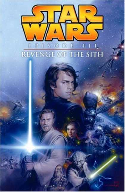 Star Wars Books - Star Wars, Episode III - Revenge of the Sith (Graphic Novel)