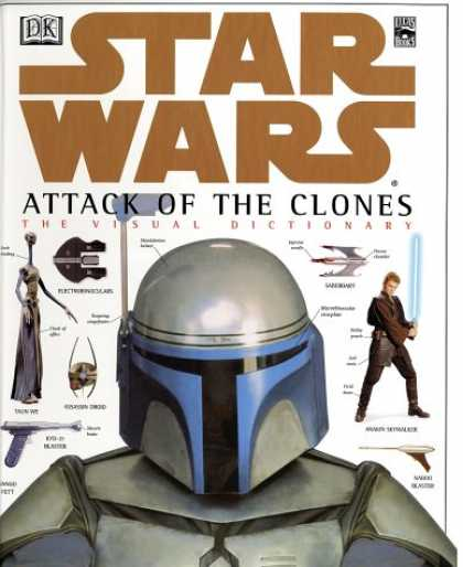 Star Wars Books - The Visual Dictionary of Star Wars, Episode II - Attack of the Clones