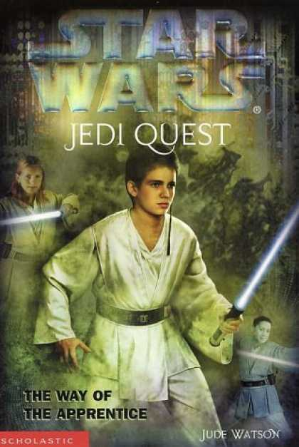 Star Wars Books - The Way of the Apprentice (Star Wars: Jedi Quest, Book 1)