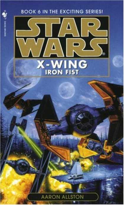 Star Wars Books - Iron Fist (Star Wars: X-Wing Series, Book 6)