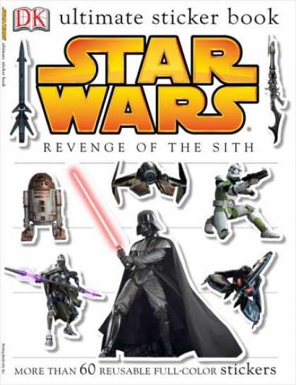 Star Wars Books - Star Wars, Episode III - Revenge of the Sith (Ultimate Sticker Book)
