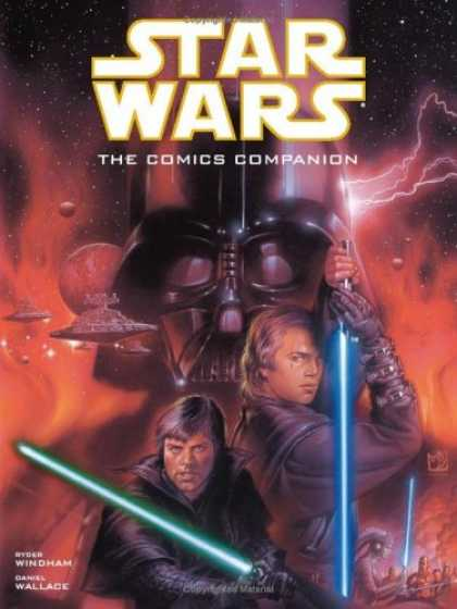 Star Wars Books - Star Wars Comics Companion