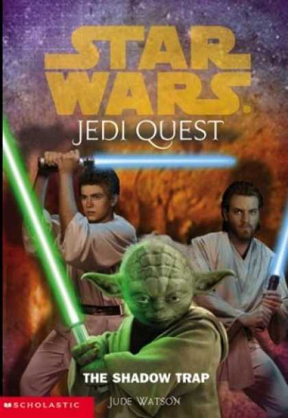 Star Wars Books - The Shadow Trap (Star Wars: Jedi Quest, Book 6)