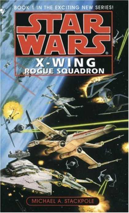 Star Wars Books - Rogue Squadron (Star Wars: X-Wing Series, Book 1)