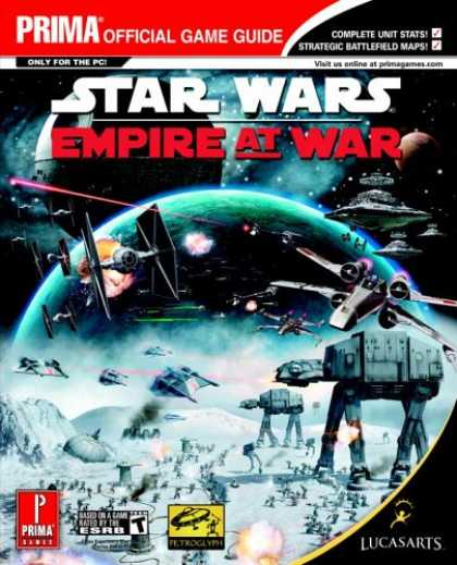 Star Wars Books - Star Wars Empire at War (Prima Official Game Guide)