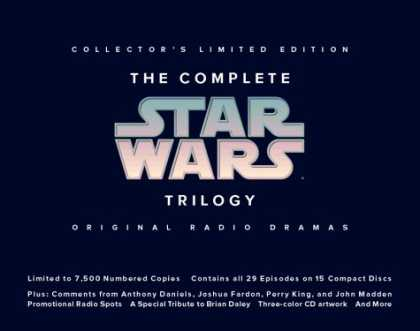 Star Wars Books - The Complete Star Wars Trilogy: Limited Edition