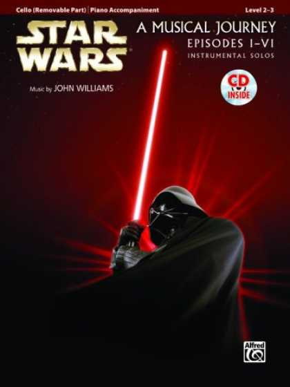Star Wars Books - Star Wars Instrumental Solos for Strings (Movies I-VI): Cello (Book & CD) (Pop I