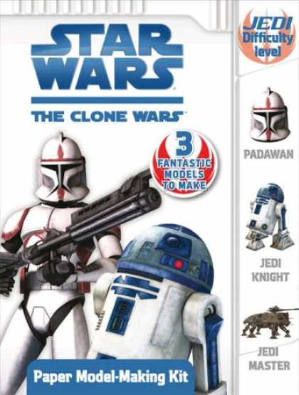 Star Wars Books - Paper Model-Making Kit (Star Wars: the Clone Wars)