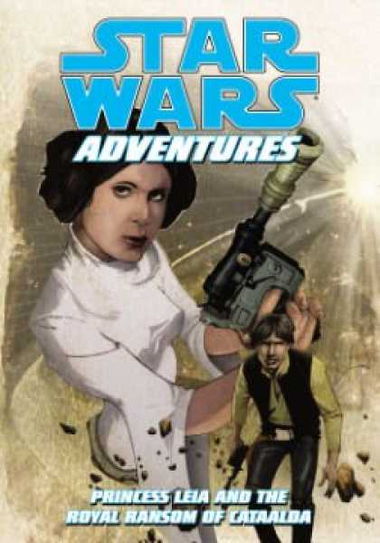 Star Wars Books - Star Wars Adventures: Princess Leia And The Royal Ransom