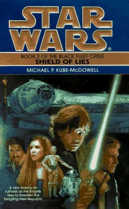 Star Wars Books - Shield of Lies (Star Wars: The Black Fleet Crisis, Book 2)