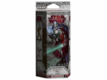 Star Wars Books - Star Wars Galaxy at War Booster: A Star Wars Miniatures Game Expansion (Star War