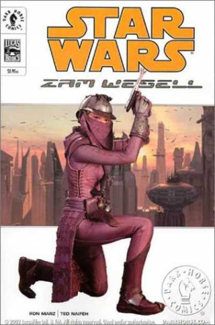 Star Wars Books - Zam Wesell (Star Wars)