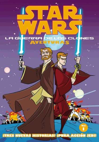 Star Wars Books - Star Wars: La Guerra De Los Clones Adventuras Volume 1 (Star Wars: Clone Wars Ad