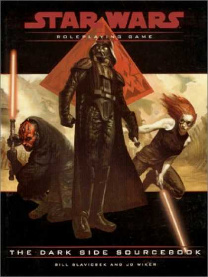 Star Wars Books - The Dark Side Sourcebook (Star Wars Roleplaying Game)