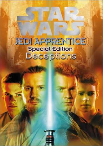 Star Wars Books - Deceptions (Star Wars: Jedi Apprentice, Special Edition #1)