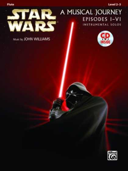Star Wars Books - Star Wars Instrumental Solos (Movies I-VI): Flute (Book & CD) (Pop Instrumental
