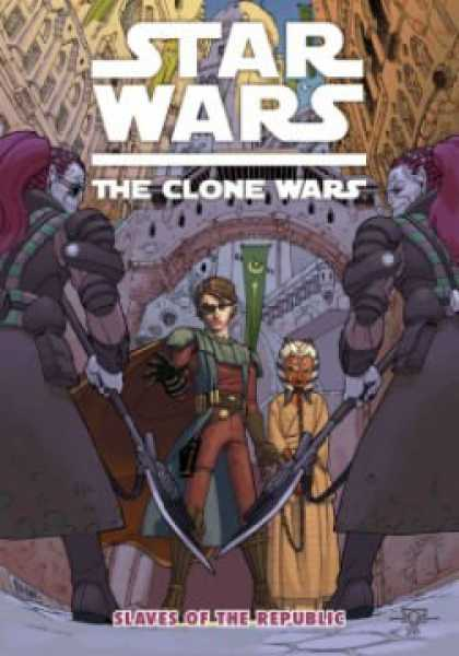 Star Wars Books - Star Wars: The Clone Wars - Slaves Of The Republic