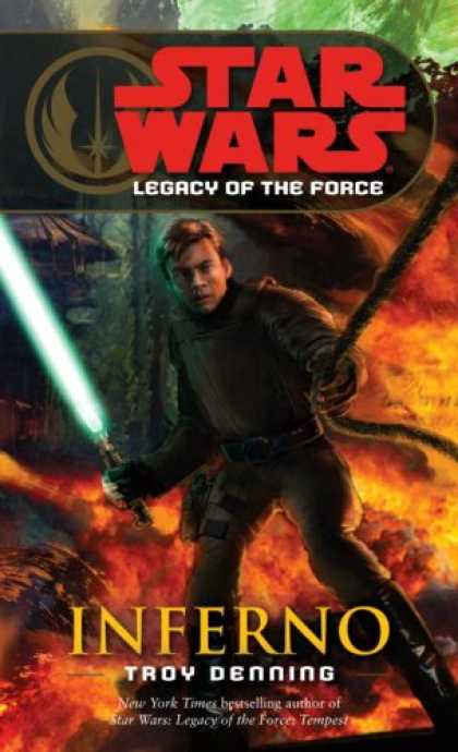 Star Wars Books - Inferno (Star Wars: Legacy of the Force, Book 6)