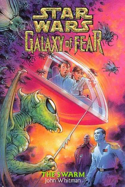 Star Wars Books - The Swarm (Star Wars: Galaxy of Fear, Book 8)