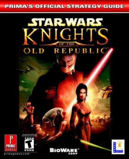 Star Wars Books - Star Wars: Knights of the Old Republic (Prima's Official Strategy Guide)