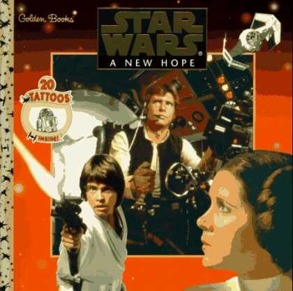 Star Wars Books - New Hope, A (Star Wars (Econo-Clad Hardcover))