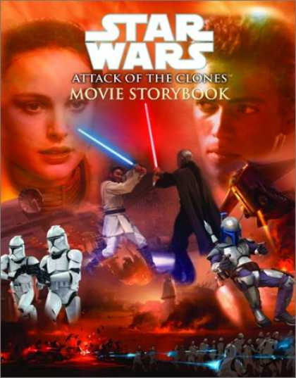 Star Wars Books - Star Wars Episode II: Attack of the Clones Movie Storybook