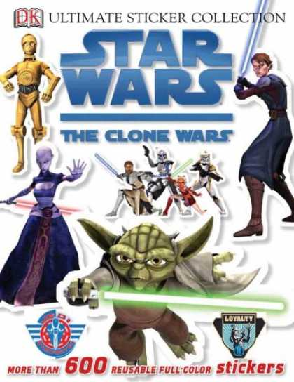 Star Wars Books - Star Wars: The Clone Wars Ultimate Sticker Collection (Ultimate Sticker Collecti