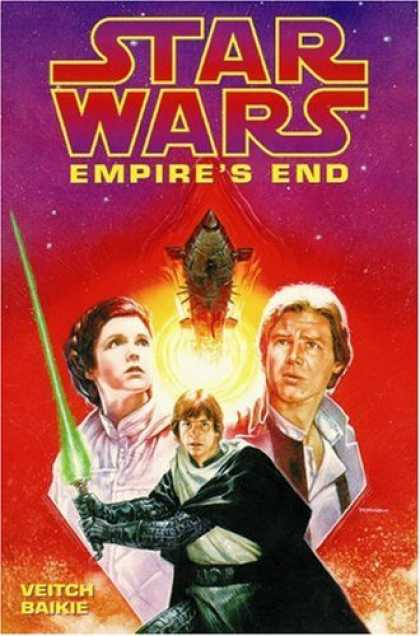 Star Wars Books - Empire's End (Star Wars: Dark Empire Series)