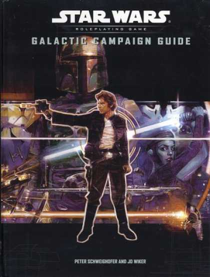 Star Wars Books - Galactic Campaign Guide (Star Wars Roleplaying Game)