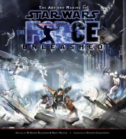 Star Wars Books - The Art and Making of Star Wars: The Force Unleashed