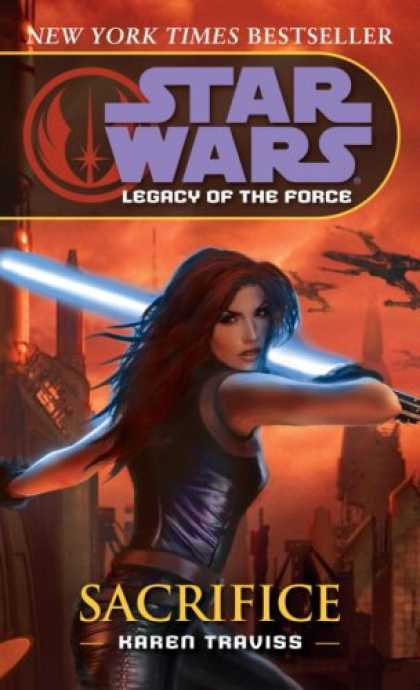 Star Wars Books - Sacrifice (Star Wars: Legacy of the Force, Book 5)