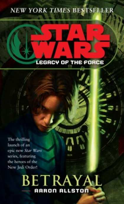 Star Wars Books - Betrayal (Star Wars: Legacy of the Force, Book 1)
