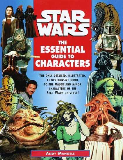 Star Wars Books - The Essential Guide to Characters (Star Wars)