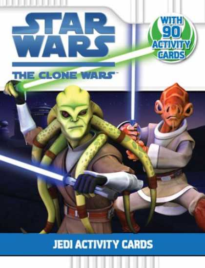 Star Wars Books - Jedi Activity Cards (Star Wars: The Clone Wars)