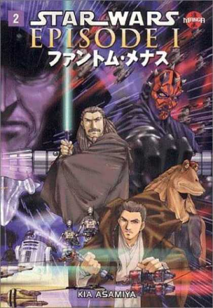 Star Wars Books - Star Wars: Episode I: Phantom Menace Manga, Volume 2