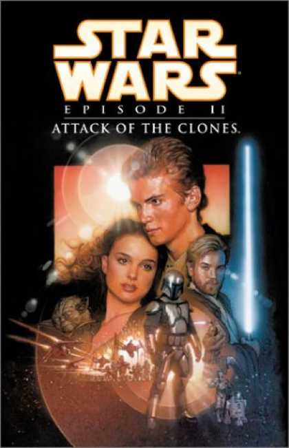 Star Wars Books - Star Wars Episode II: Attack of the Clones