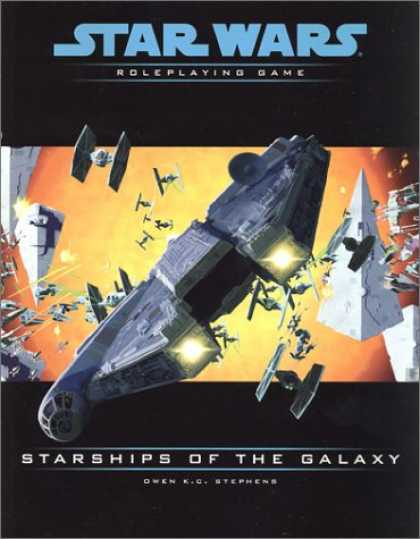 Star Wars Books - Starships of the Galaxy (Star Wars Roleplaying Game)