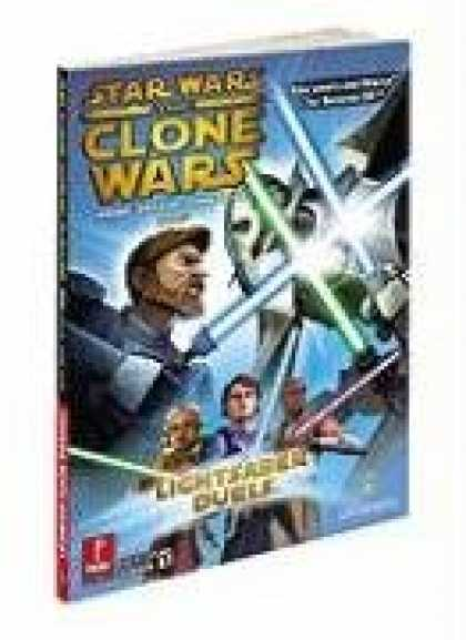 Star Wars Books - Star Wars Clone Wars: Lightsaber Duels and Jedi Alliance: Prima Official Game Gu