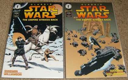 Star Wars Books - Classic Star Wars The Empire Strikes Back # 1 and 2. (The Complete Two Part Limi