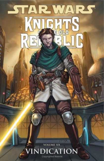 Star Wars Books - Vindication (Star Wars: Knights of the Old Republic, Vol. 6)