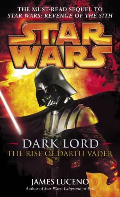 Star Wars Books - Dark Lord: The Rise of Darth Vader (Star Wars)