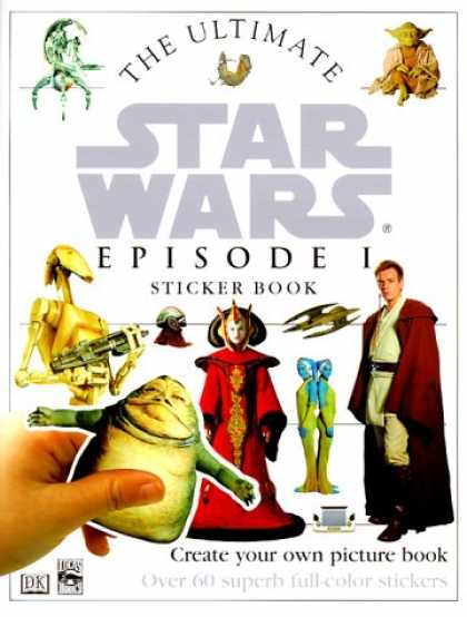 Star Wars Books - The Ultimate Star Wars Episode 1 Sticker Book
