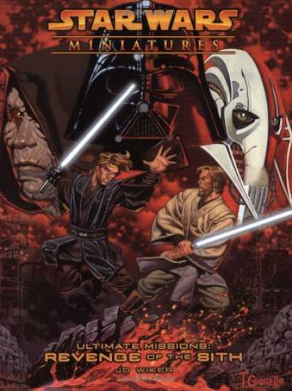 Star Wars Books - Ultimate Missions: Revenge of the Sith (Star Wars Miniatures: Accessory)